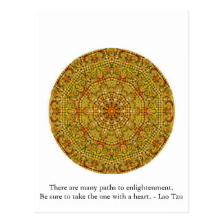 There are many paths to enlightenment............. postcard