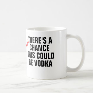 There's a good chance this could be vodka. basic white mug