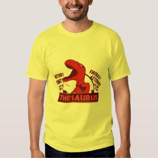 thesaurus tee shirts