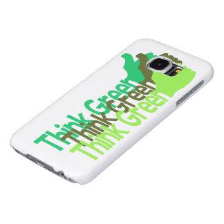Think Greem phone cases