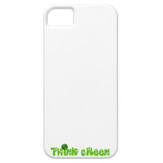 Think Green Globe Barely There iPhone 5 Case