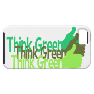 Think Green iPhone 5 Case-Mate iPhone 5 Cases