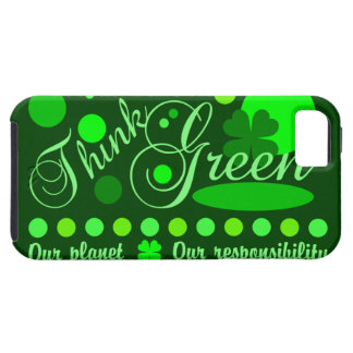 Think Green iPhone 5 Case-Mate Tough iPhone 5 Case