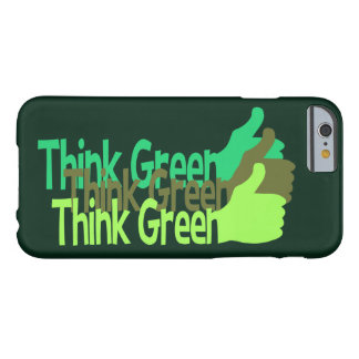 Think Green phone cases