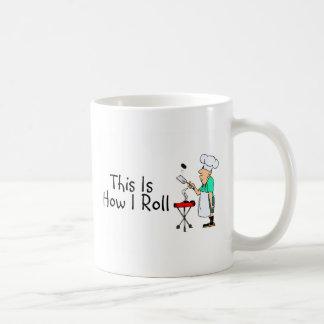 This Is How I Roll (BBQ) Basic White Mug