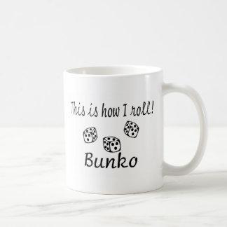 This Is How I Roll Bunko Basic White Mug
