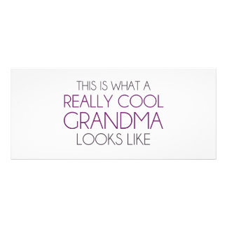 This is What a Really Cool Grandma Looks Like Rack Card Template