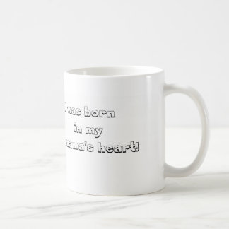 This item is for the child who was adopted basic white mug