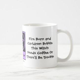 This Witch Needs Coffee! Coffee-addicts Cup/Mug Basic White Mug