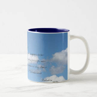 This world is not my home... Two-Tone mug
