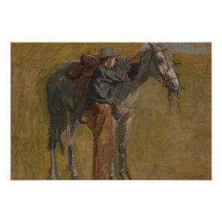 Thomas Eakins - Cowboy: Study for Cowboys Photo Print