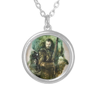 THORIN OAKENSHIELD™, Dwalin, & Balin Graphic Round Pendant Necklace