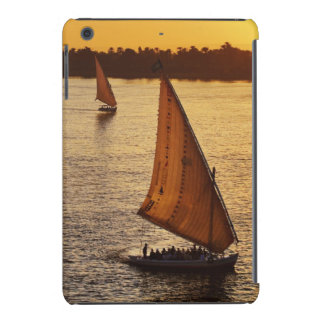 Three falukas with sightseers on Nile River at iPad Mini Case
