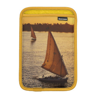 Three falukas with sightseers on Nile River at Sleeve For iPad Mini