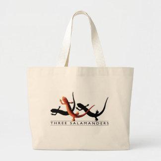 Three Salamanders Two-Tone Tote Jumbo Tote Bag