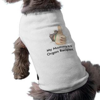 thumb3, My Mommy is a Organ Recipient. Sleeveless Dog Shirt