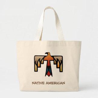 Thunderbird - Native American Indian Symbol Jumbo Tote Bag