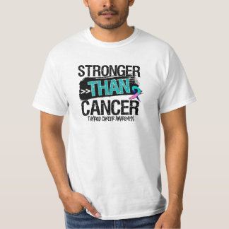 Thyroid Cancer - Stronger Than Cancer Tshirts