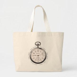 Tick Tock Jumbo Tote Bag
