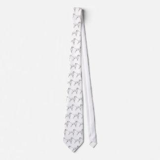 Tie: Black-Spotted Dalmatian Tie