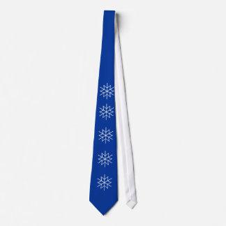 Tie - Graphic Snow Flake