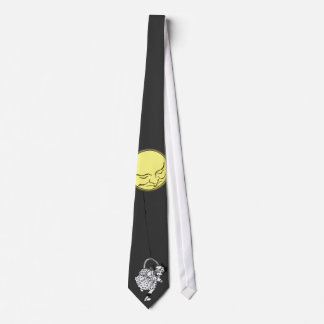 Tie: THe Girl with the Moon on a String Tie