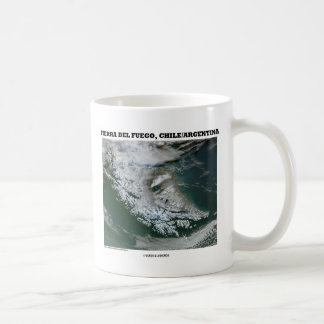 Tierra Del Fuego Chile/Argentina (Picture Earth) Basic White Mug