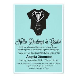 Tiffany Blue Baby Shower Invitation