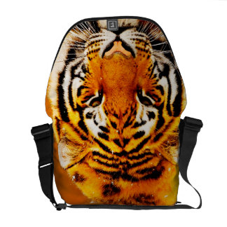 Tiger Medium Messenger Bag