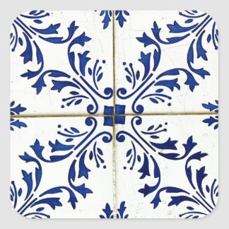 Tiles Square Sticker