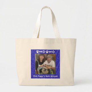 Tim, Francesca and Elvis Jumbo Tote Bag