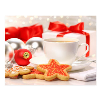 Time for a tea break postcard