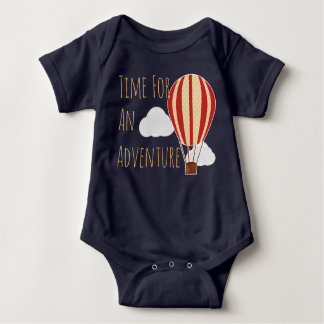 Time For An Adventure Hot Air Balloon Shirts