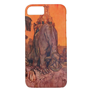 Timlin Fairy Zoo Vintage Fantasy Watercolor Art iPhone 7 Case