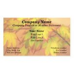 """Tinged with Red"" (Maple Leaves) Pack Of Standard Business Cards"
