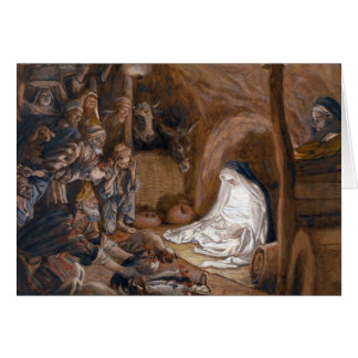 "Tissot's ""The Adoration of the Shepherds"" Card"