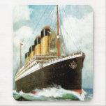 Titanic at Sea Mouse Pad