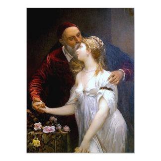 Tiziano y Lavinia (loving couple) ~ 17 Cm X 22 Cm Invitation Card