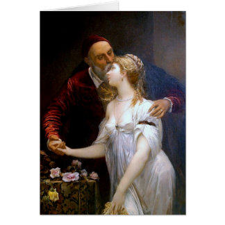 Tiziano y Lavinia (loving couple) ~ Greeting Card