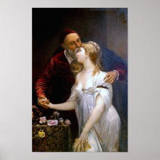 Tiziano y Lavinia (loving couple) ~ Poster