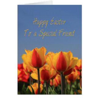 To a Special Friend Happy Easter Greeting Card