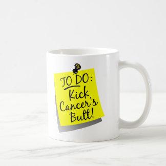 To Do - Kick Cancer's Bladder Cancer Basic White Mug