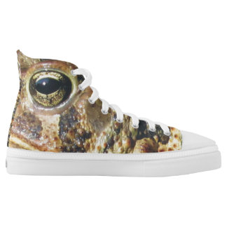 Toadly Awesome Toad Printed Shoes