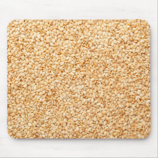 Toasted sesame seeds mouse pad