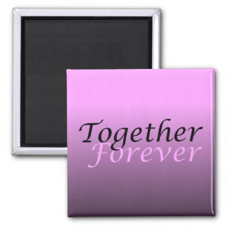Together Forever (05) Square Magnet