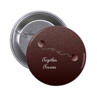 Together Forever 6 Cm Round Badge