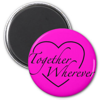 together wherever magnet round