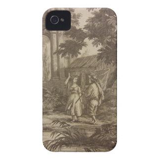 Toile Peasant Scene iPhone 4 Case-Mate Cases