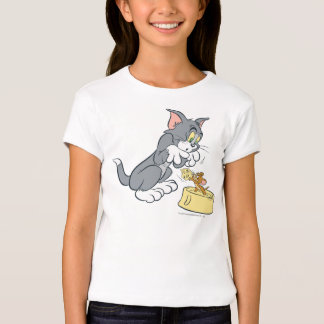 Tom and Jerry Feed The Cat Tees