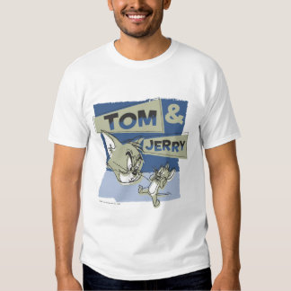 Tom and Jerry Scaredey Mouse T Shirts
